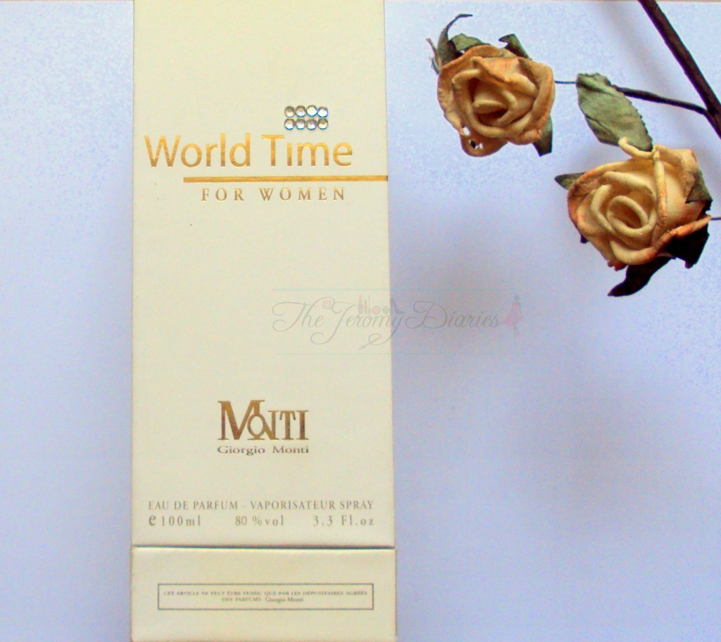 World Time for Women by Giorgio Monti Eau De Parfum