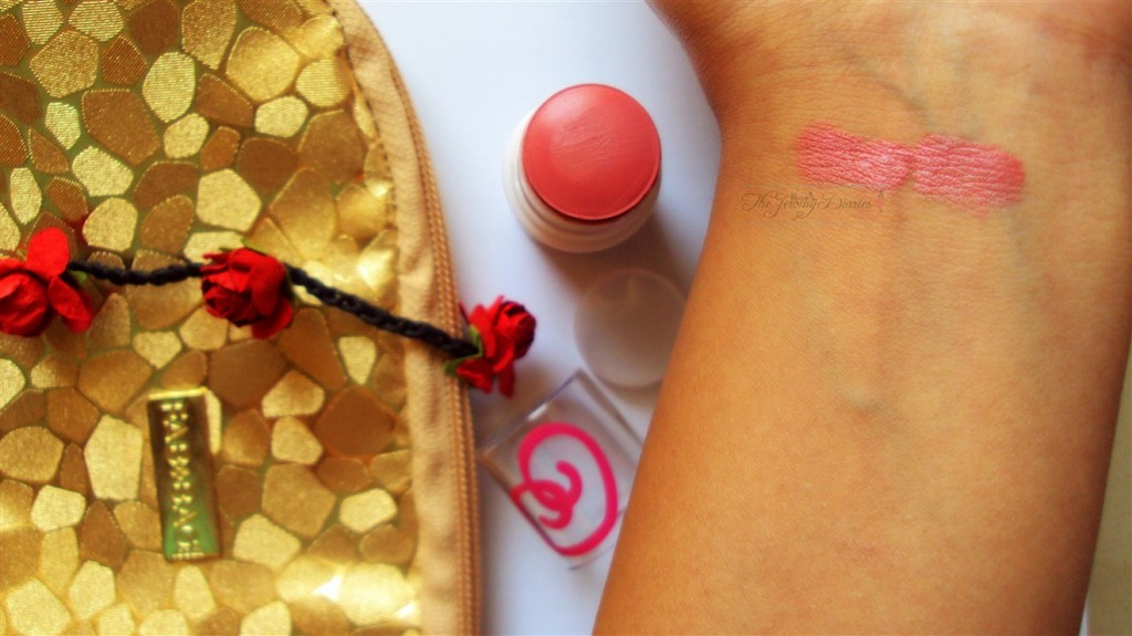 Fab Bag November 2014 City Color Cheek Stain Berry Swatches