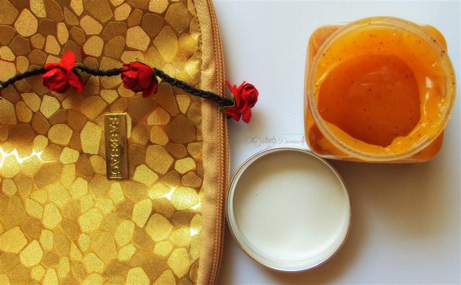 Fab Bag November 2014 Invigorating Orange Gel scrub for hands and foot