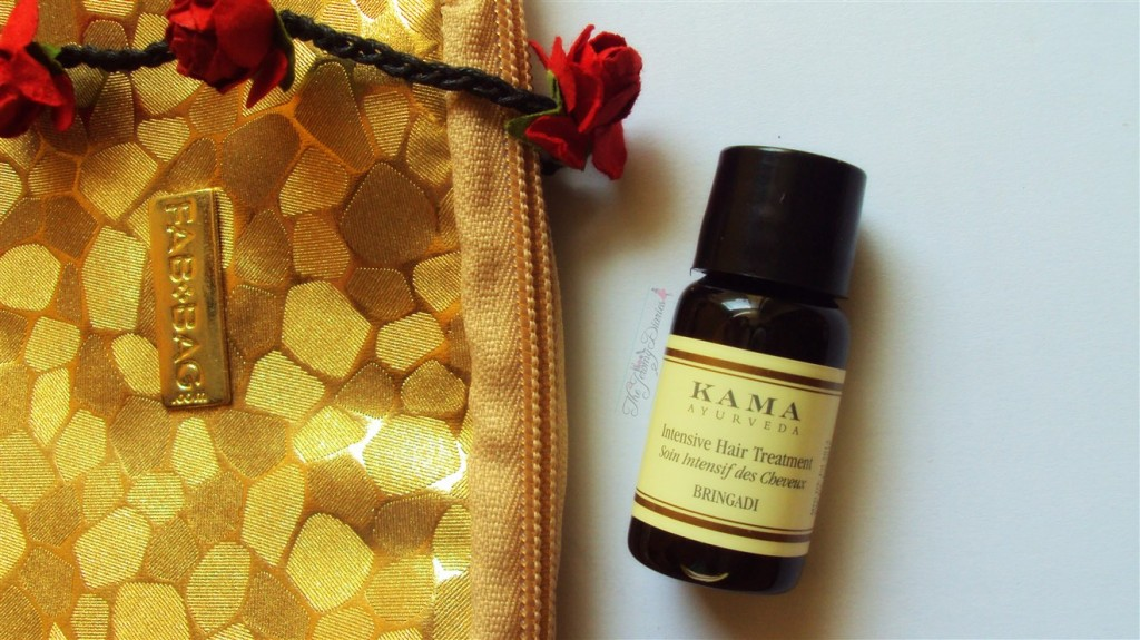 Fab Bag November 2014 Kama Hair treatment oil