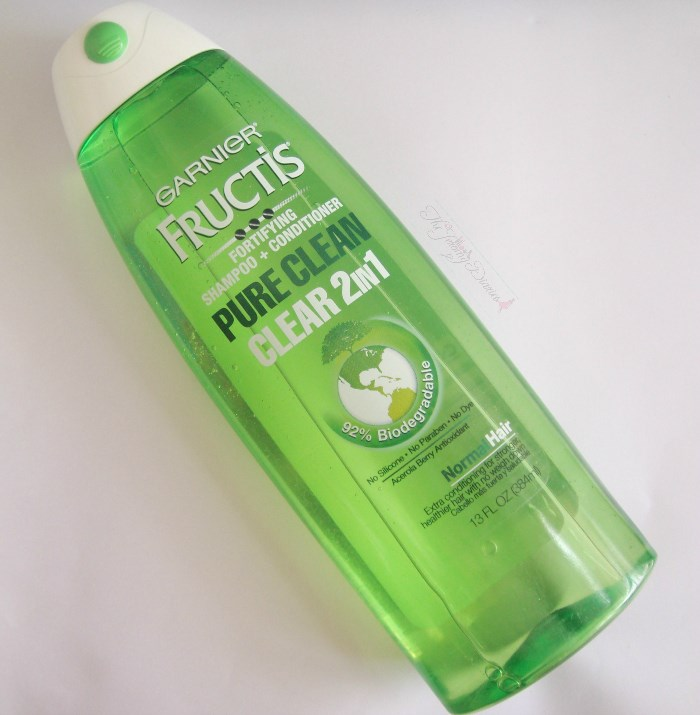 Garnier Fructis Pure Clean Clear 2-in-1 Fortifying Shampoo+Conditioner Review