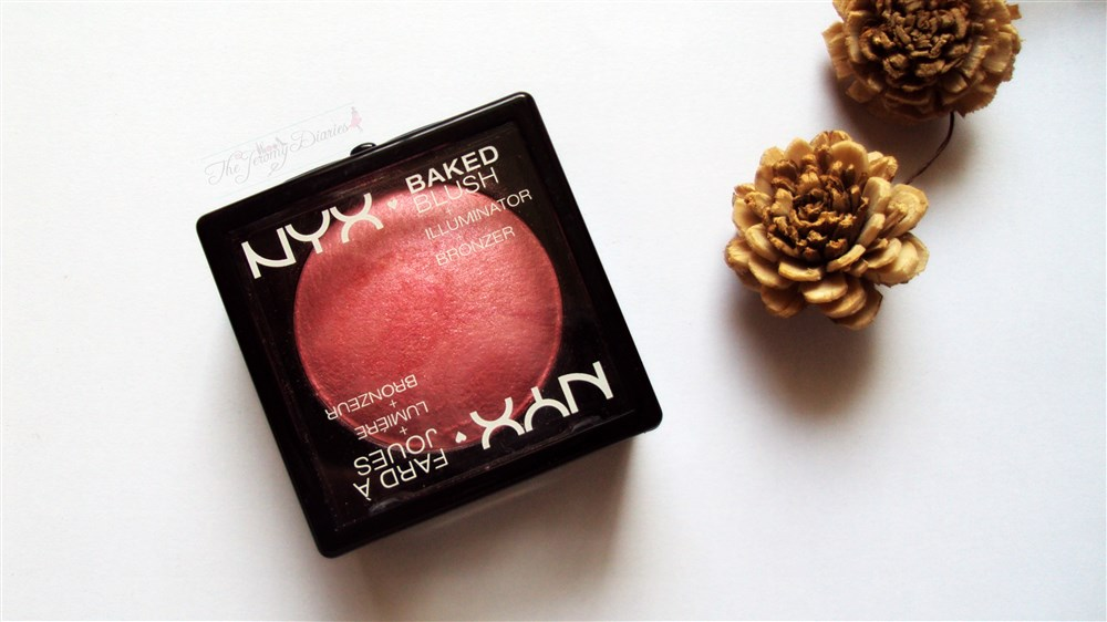 Nyx baked blush illuminator bronzer