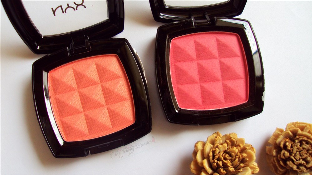 Nyx powder blush Peach Apricot