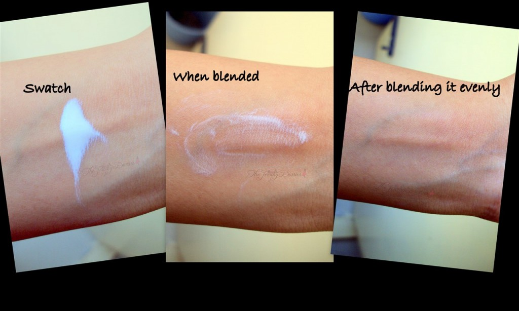 Oil of Olay swatch