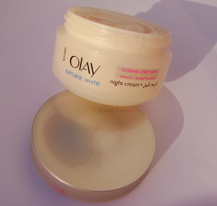 Olay Natural White Fairness Night Cream review