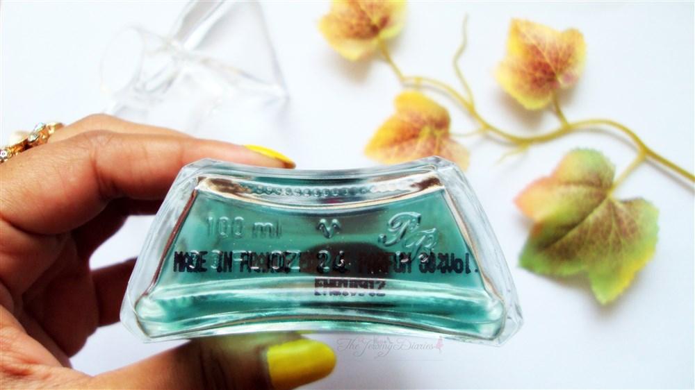 SPPC Paris Bleu Perfume Made in