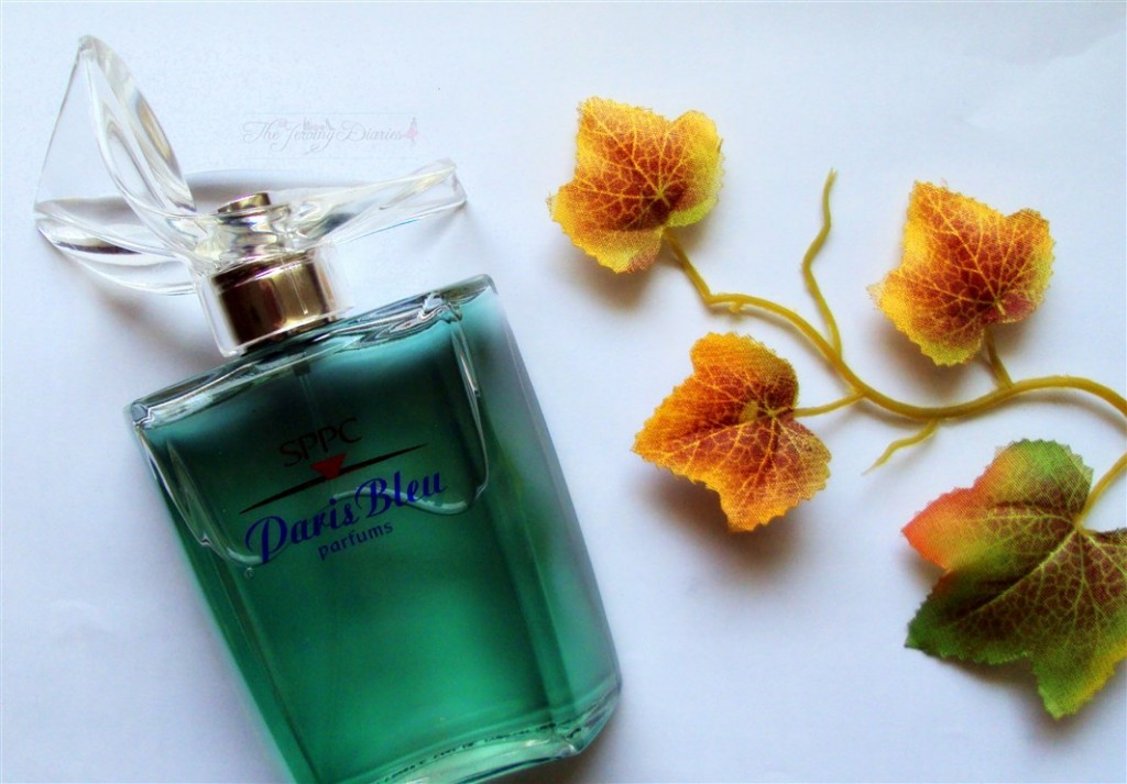 SPPC Paris Bleu Perfume bottle
