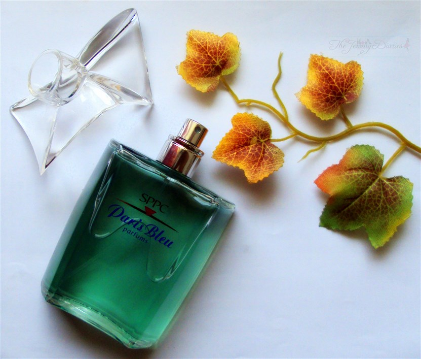 SPPC Paris Bleu Perfume bottle view