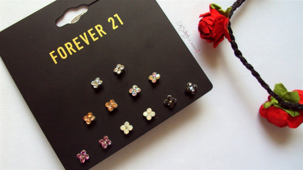 Forever21 EarStuds Accessories Haul