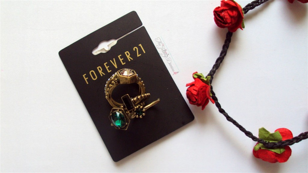 Forever21 Rings Accessories Haul