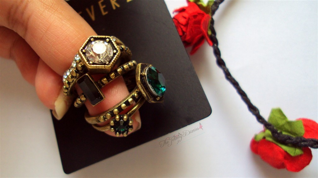 Forever21 Rings Turquoise Accessories Haul