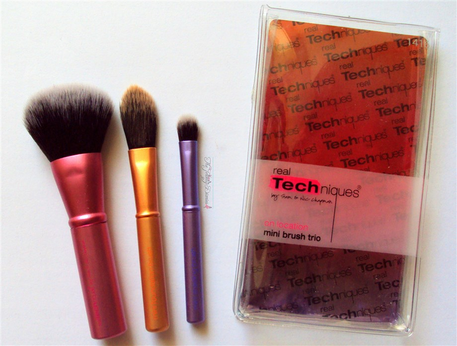 Real Techniques Mini Brush Set Trio Review