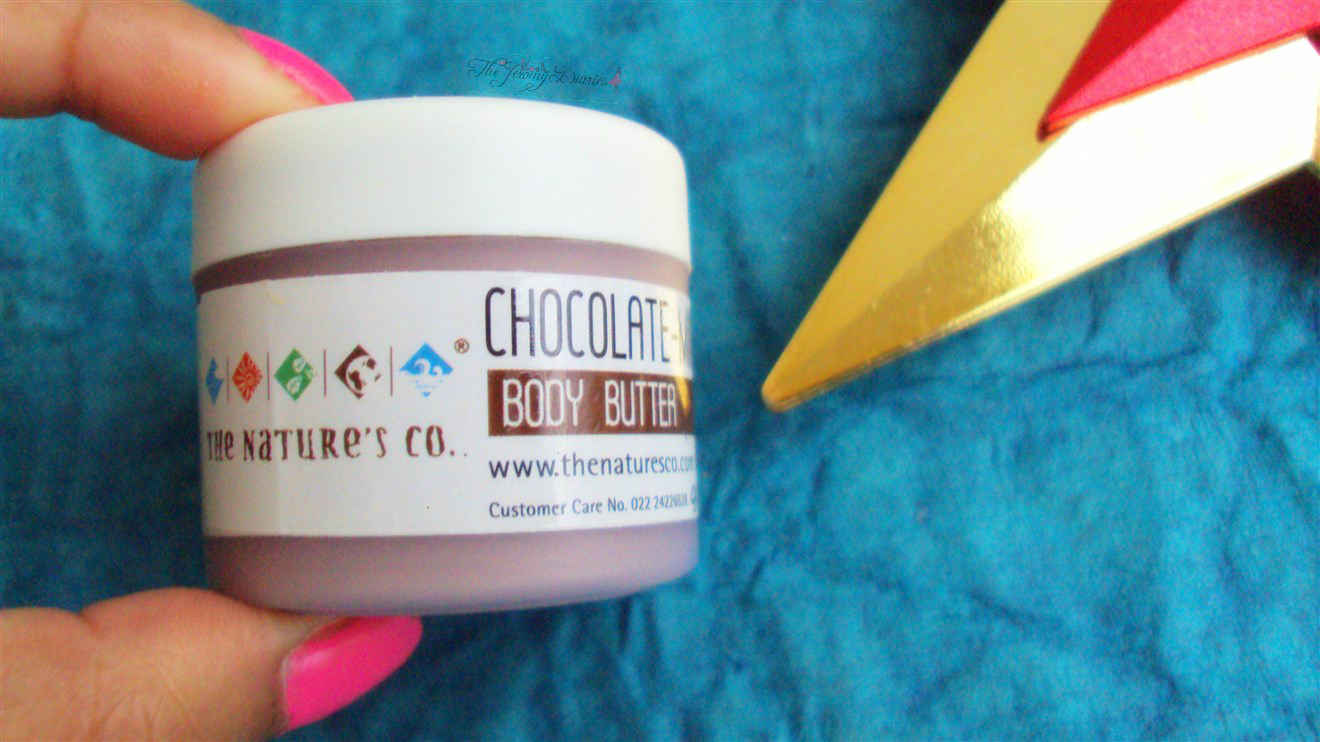 chocolate body butter the nature's co