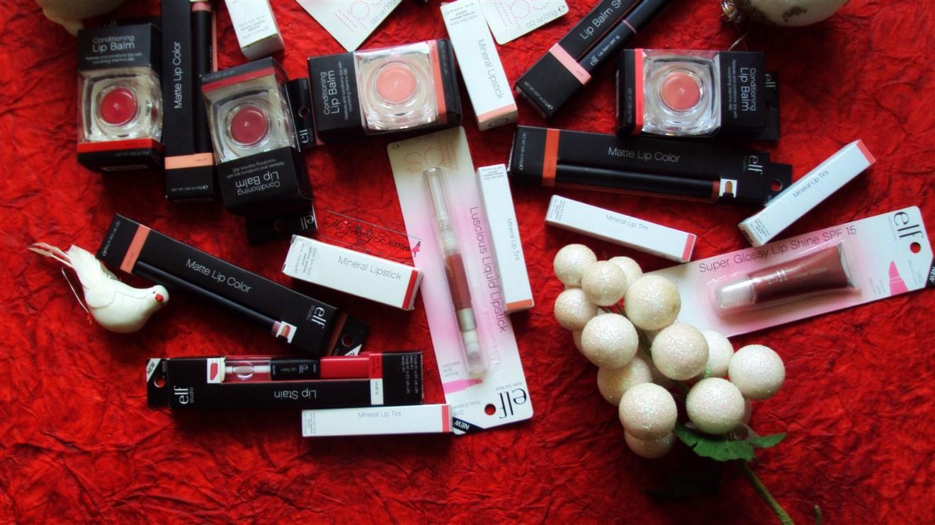elf haul makeup ipsticks lip balm lip tint