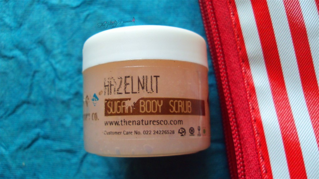 fab bag hazelnut sugar scrub