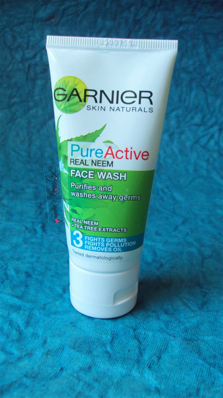 garnier skin naturals pure active neem face wash