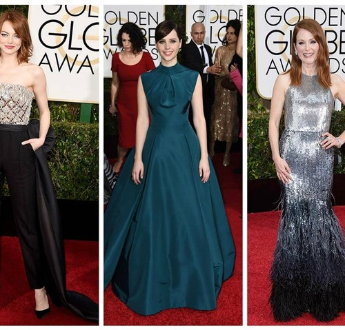 golden globes awards 2015 best dressed