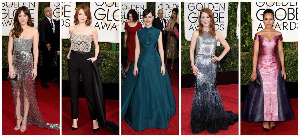 golden globes awards 2015 best dressed