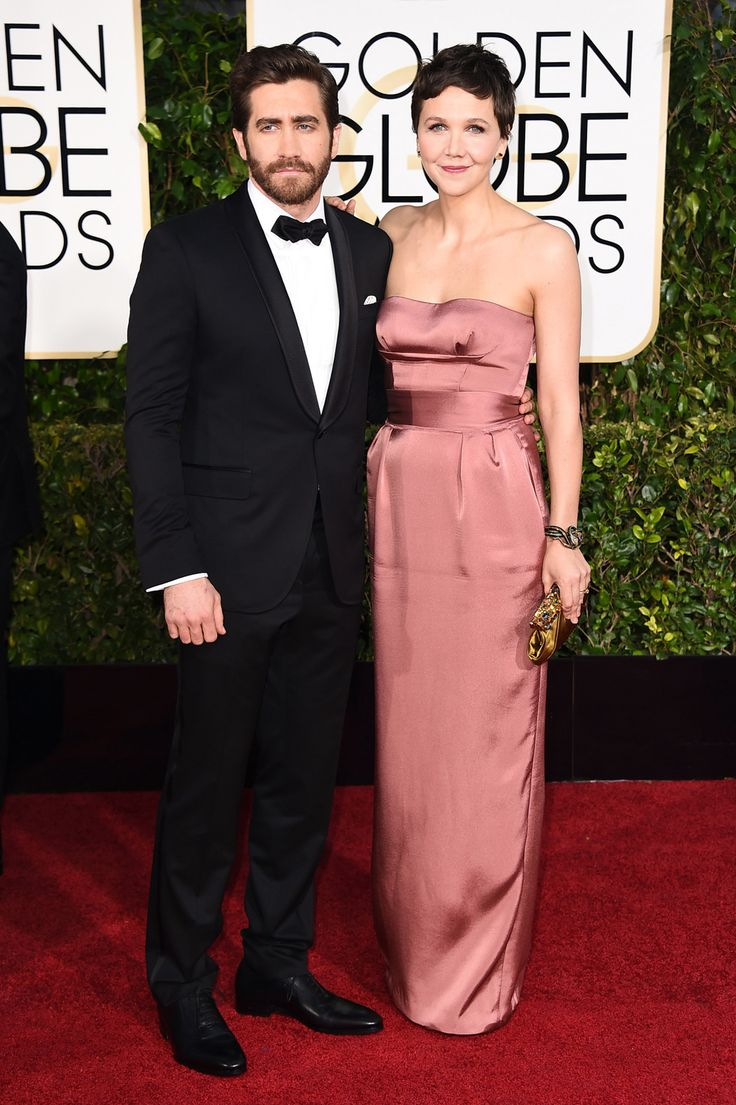 jake gyllenhaal and maggie gyllenhaal golden globes 2015