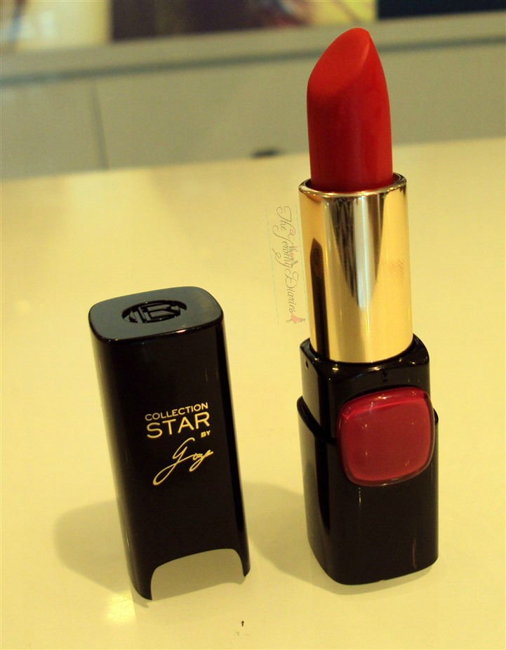 loreal collection star pure reds lipstick pure amaranthe swatches price and availability in india