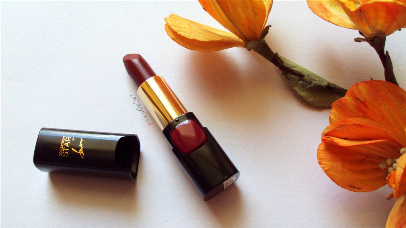 loreal collection star red pure garnet lipsticks in india