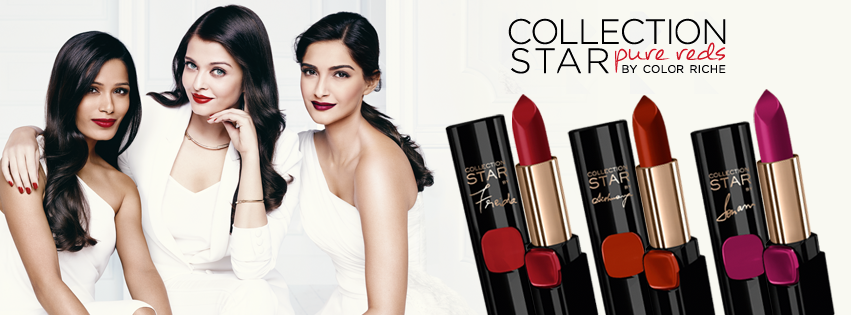 loreal paris collection star pure reds by color riche
