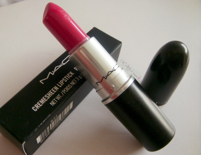 mac speak louder packaging pink lipstick mac