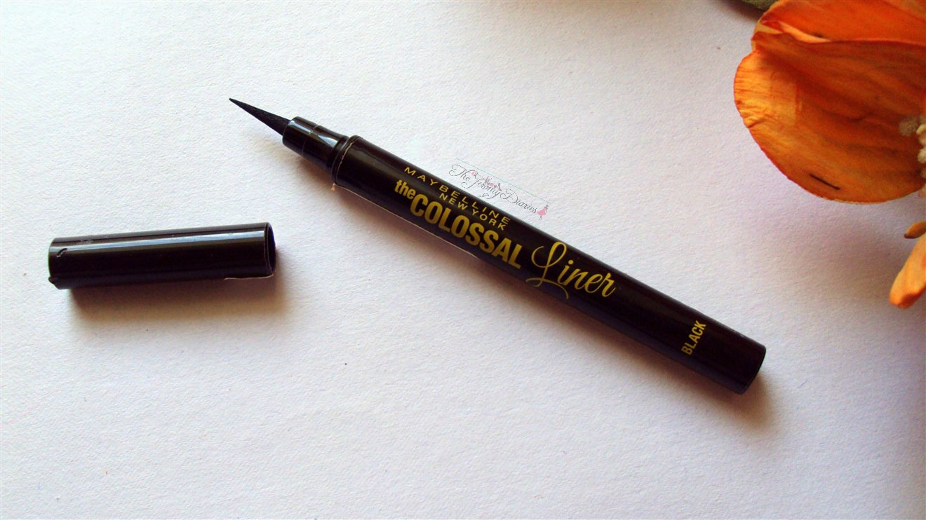 maybelline colossal black eye liner review