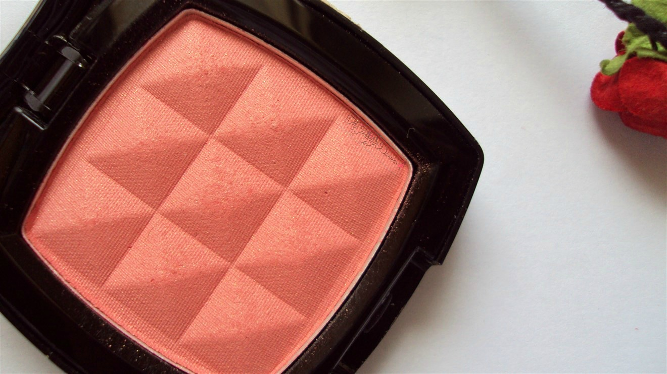 nyx powder blush apricot review