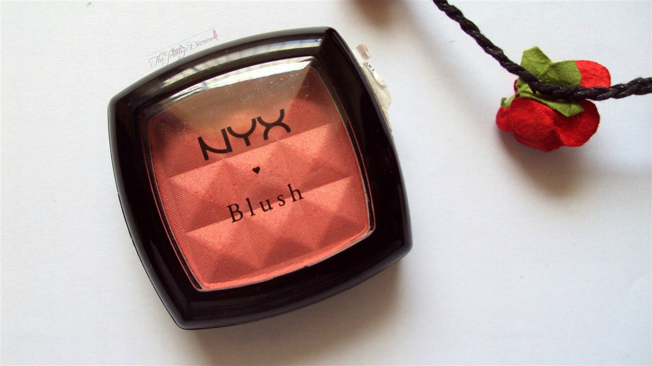 nyx powder blush apricot