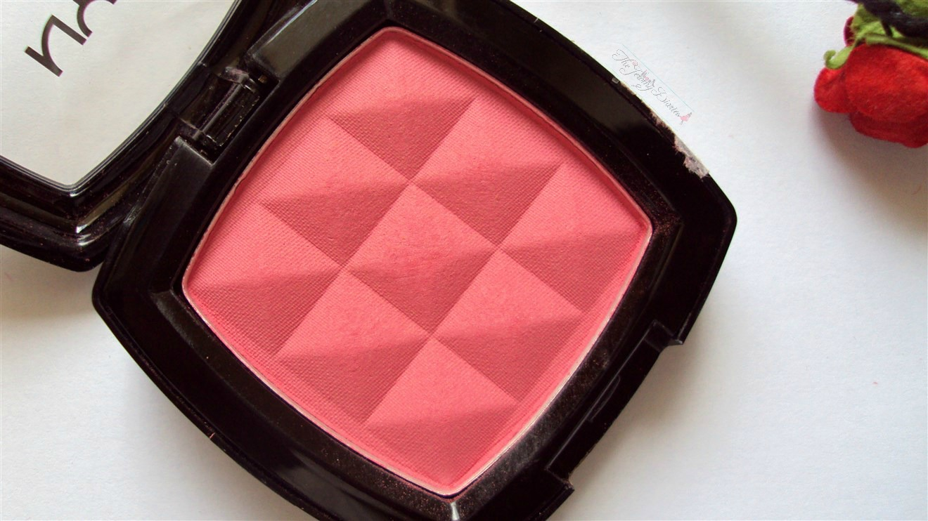 nyx powder blush review peach