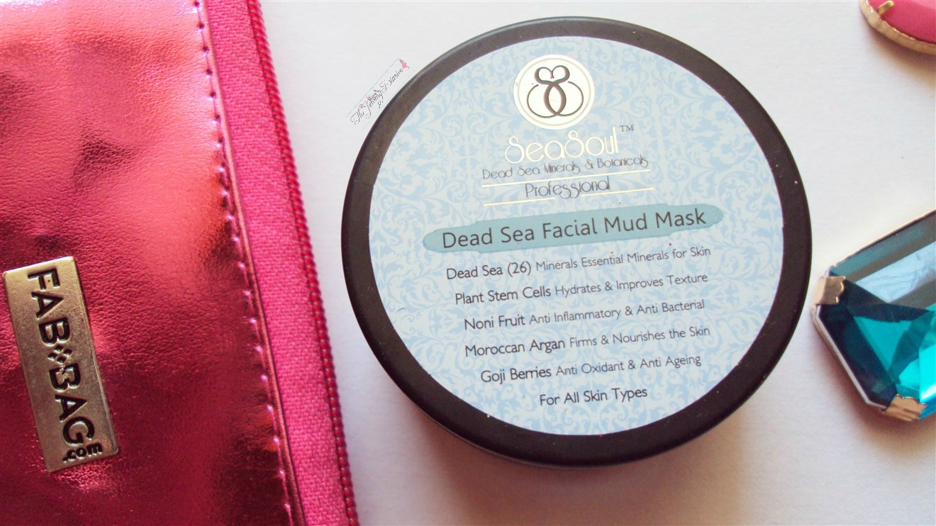 seasoul cosmetics dead sea mud mask