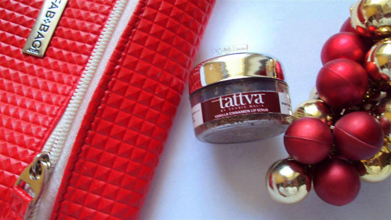 tattva lip scrub for smooth lips