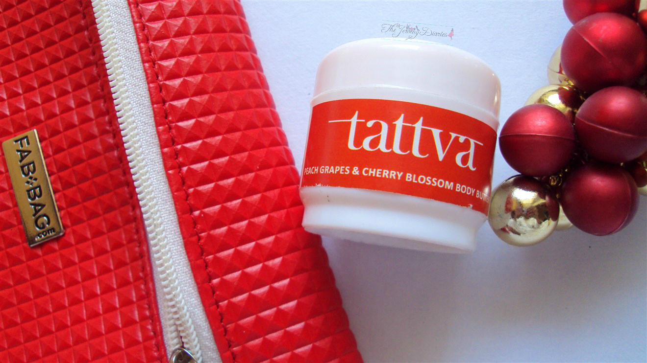 tattva peach grapes and cherry blossom body butter