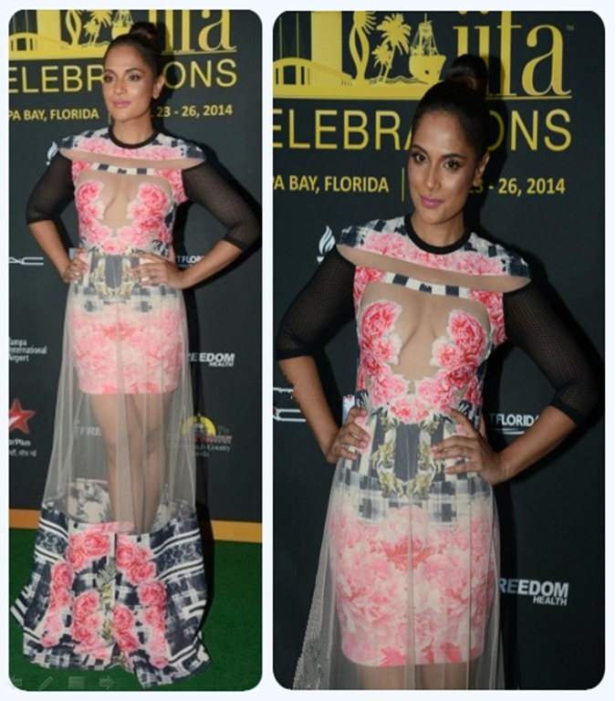 Indian Bollywood Actress - Richa Chadda at IIFA 2014 - International Indian Film Academy Awards - Best Worst for Green Carpet 10
