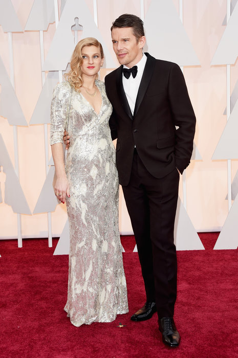 actor ethan hawke and ryan hawke oscars 2015