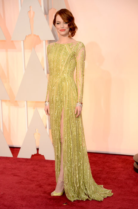 actress emma stone oscars 2015