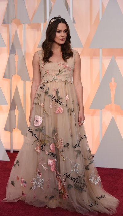 actress keira knightley oscars 2015