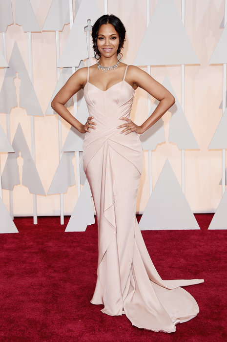 actress zoe saldana oscars 2015