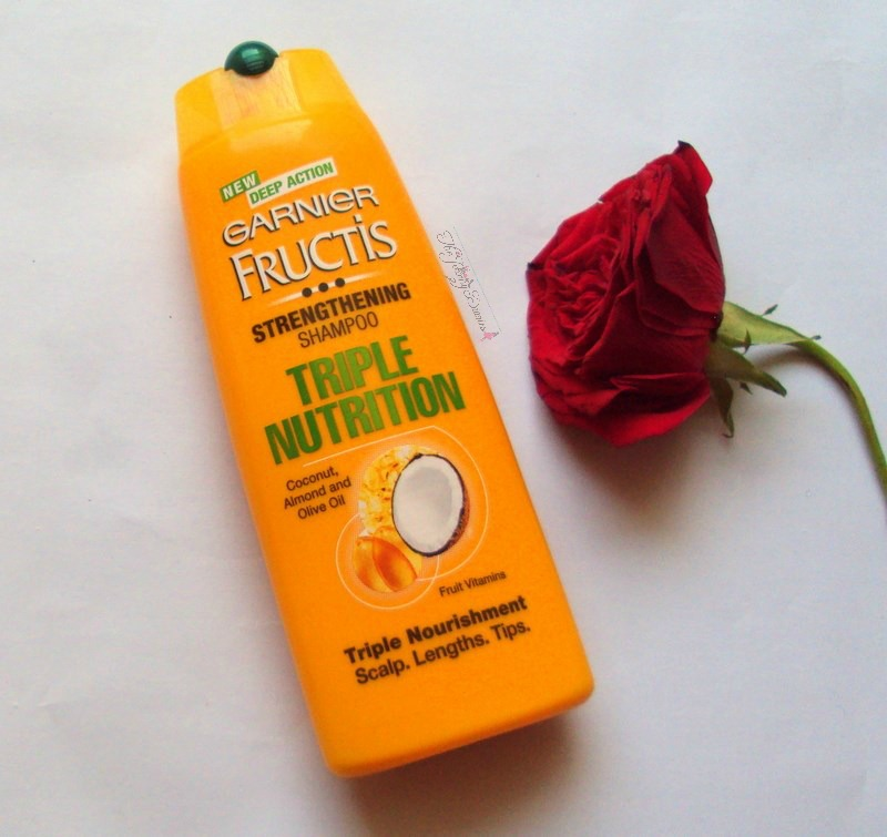 garnier fructis triple nutrition strengthening shampoo review