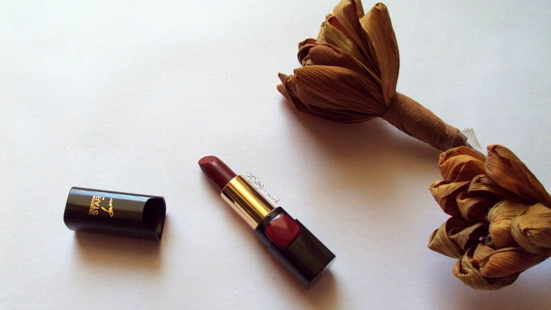 loreal collection star pure reds lipstick in pure garnet review