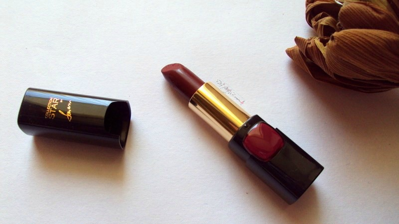 loreal collection star pure reds lipstick in pure garnet