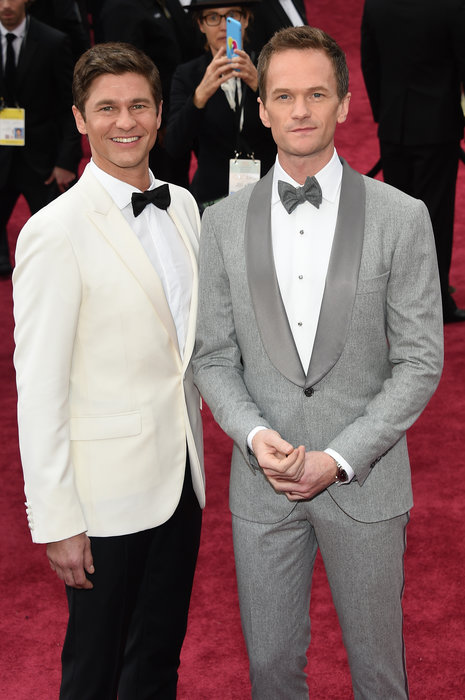 neil patrick harris and david burtka oscars 2015