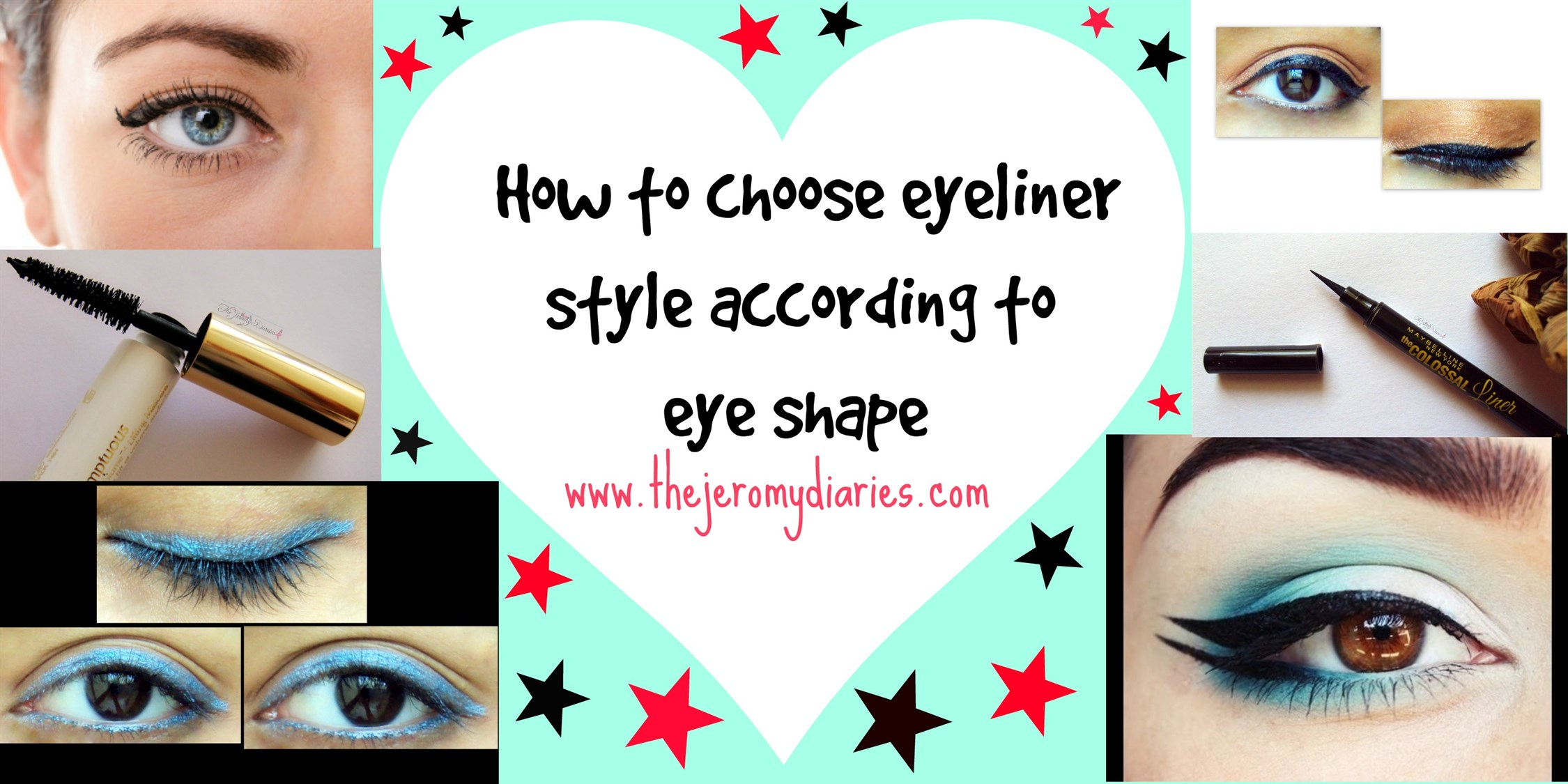 different eyeliner style for different eye shape (2250 x 1125)