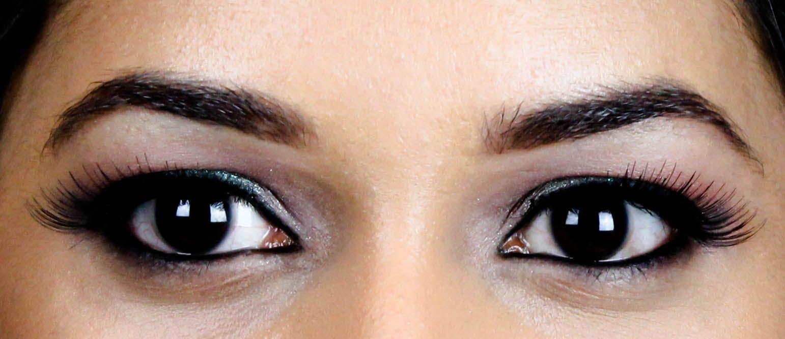 eyeliner style for hooded lids