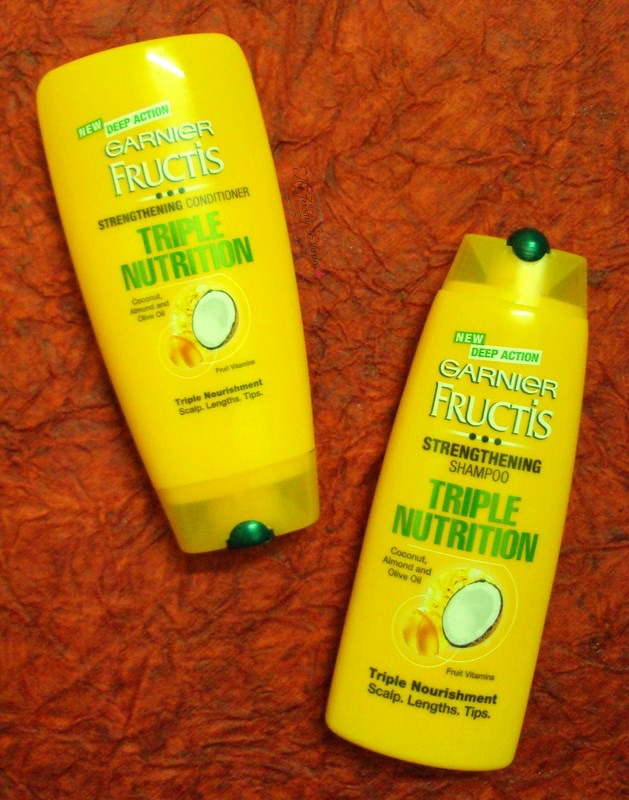 Garnier Fructis Triple Nutrition Range #HappyHairChallenge Completed and Review