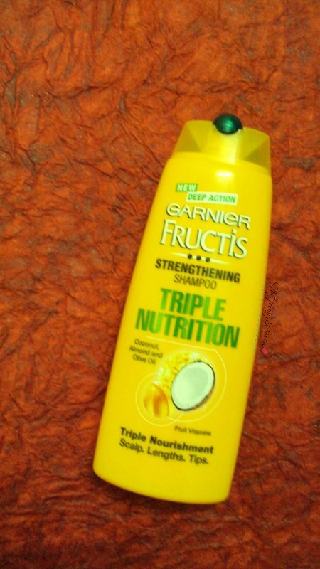 garnier fructis triple nutrition shampoo review