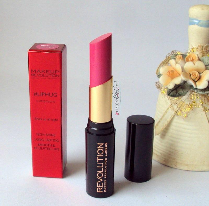 makeup revolution liphug pink lipsticks