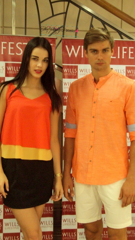 models in spring summer 2015 launch by wills lifestyle