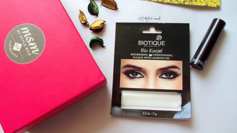 msm box my style mile march subscription biotique bio kaajal